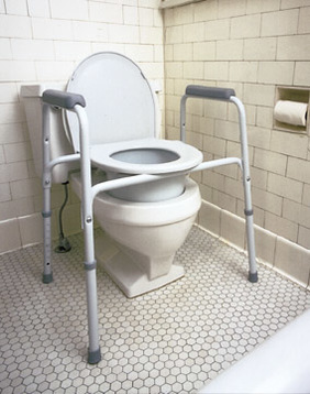 Charming Commode Chair Over Toilet Contemporary - Best image 3D ...